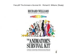 Mva Bill Of Sale >> Animator's Survival Kit Pdf | amulette