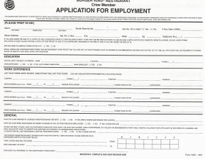 Job Application Form New Zealand on blank generic, part time, free generic,