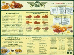 Wingstop Nutrition Facts Pdf