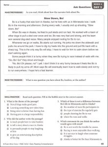 Grade 7 Reading Comprehension Worksheets Pdf | amulette